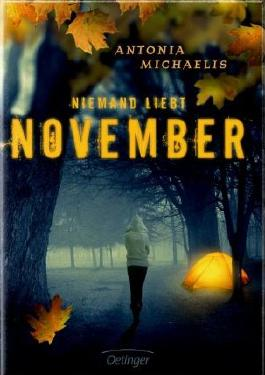 Never will I ever Tag Niemand liebt November Antonia Michaelis Cover