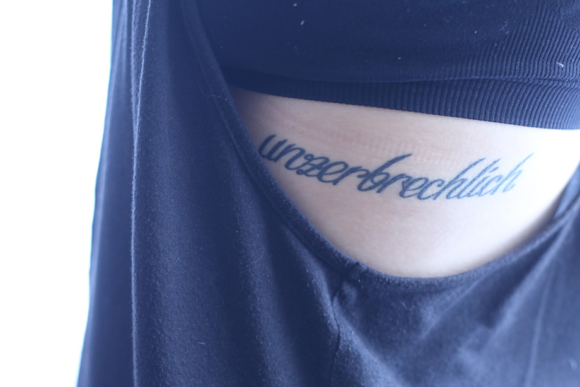 Dankbarkeit Foto Fotografie unzerbrechlich Tattoo