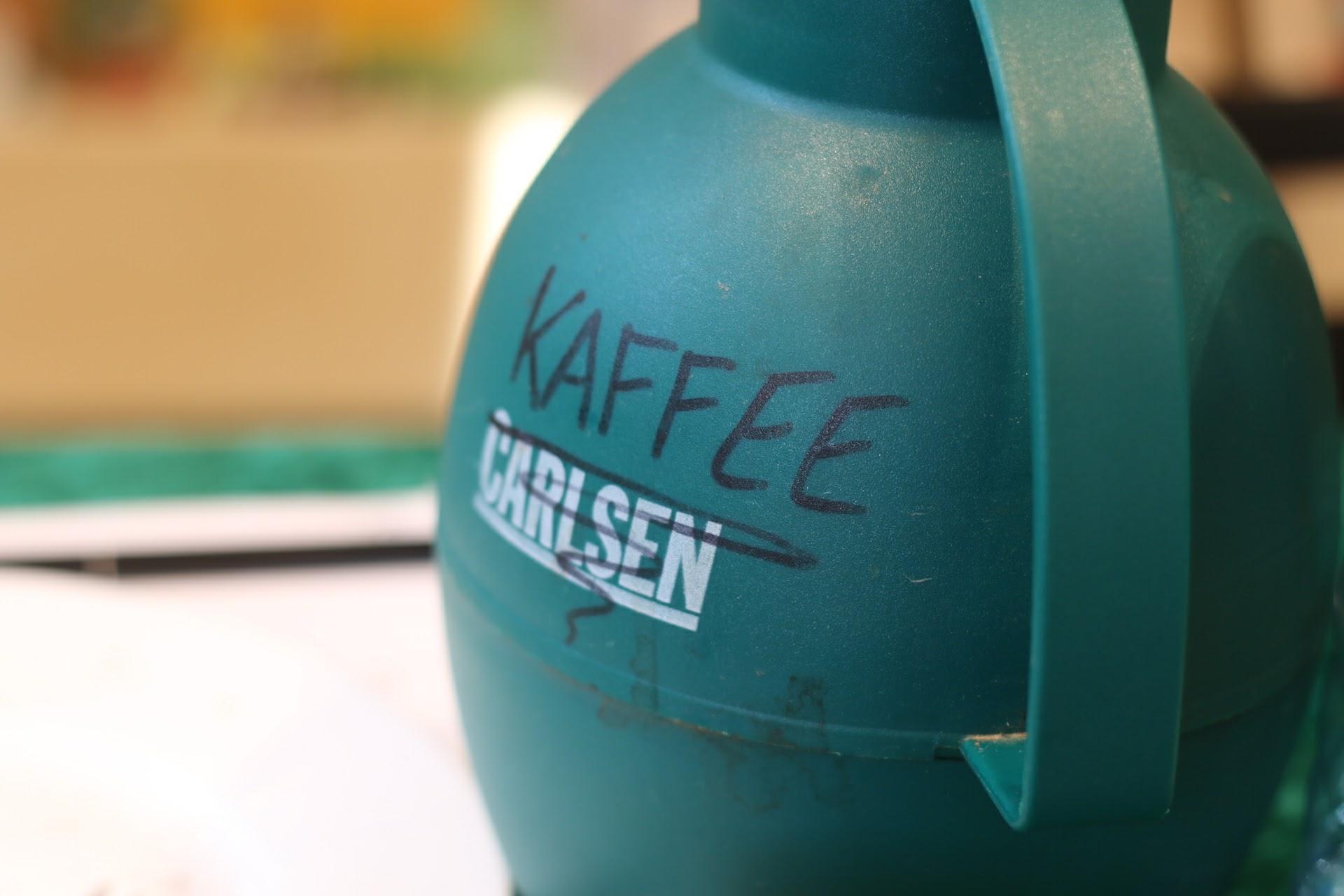 Blogger-Event Kaffee Kaffeeklatsch Carlsen Kaffeekanne