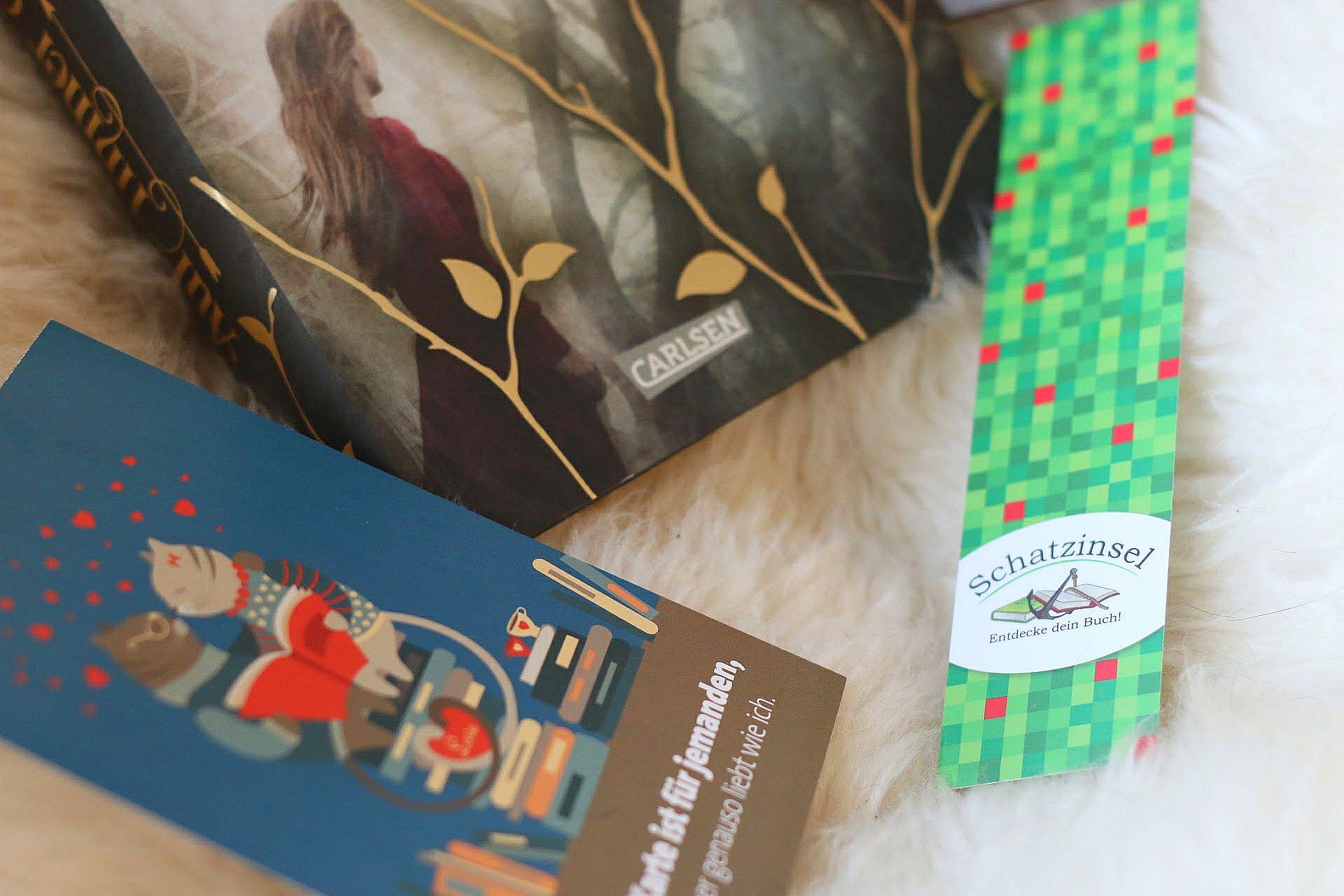 Blogger-Event Bücher Schatzinsel Münster Buchhandlung Auf immer gejagt Erin Summerill