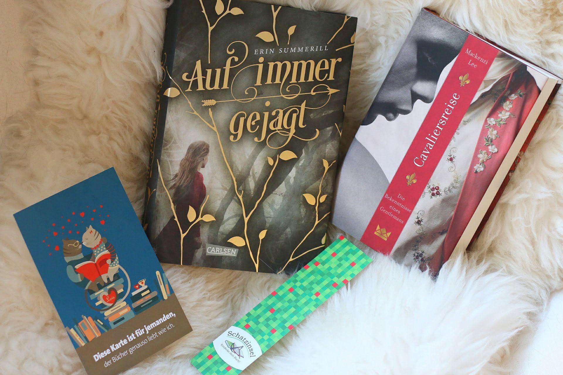 Blogger-Event Bücher Schatzinsel Münster Buchhandlung Auf immer gejagt Erin Summerill Cavaliersreise Mackenzie Lee