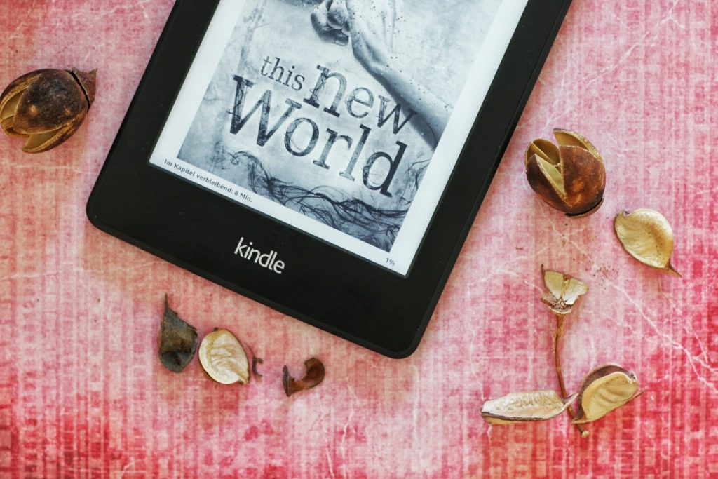 This New World Laura Newman Cover Kindle Paperwhite