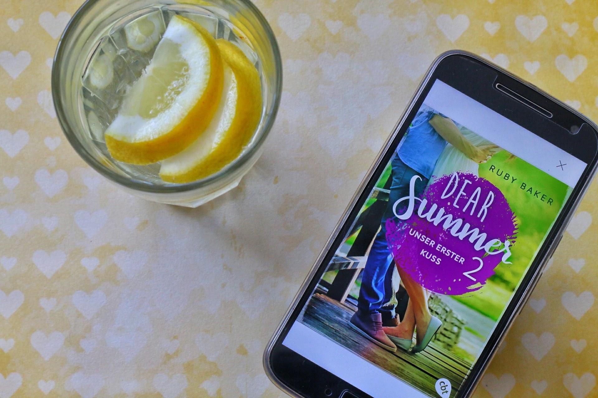 Ruby Baker Dear Summer 2 Cover Zitrone Glas erfrischend