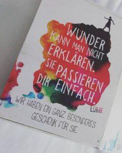 Ich Eleonor Oliphant Gail Honeyman Lübbe Verlag Geschenk Verpackung