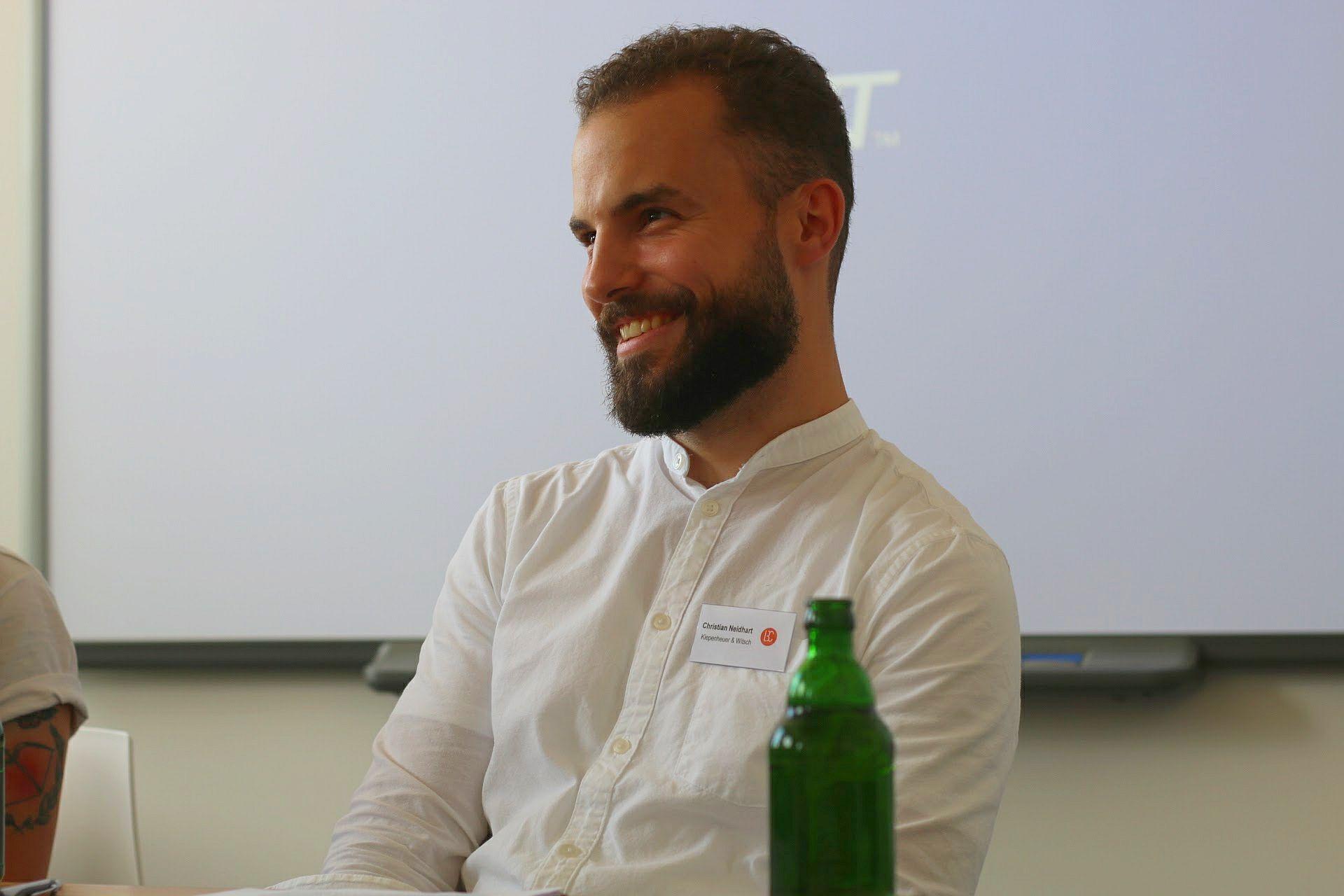 LitBlog Convention 2017 Christian Neidhart Lektor