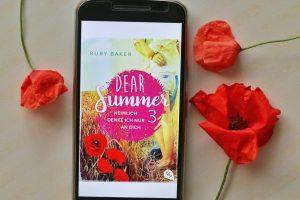 Dear Summer 3 Heimlich denke ich nur an dich Cover Mohnblumen Blumen Flowers Ruby Baker Rezension