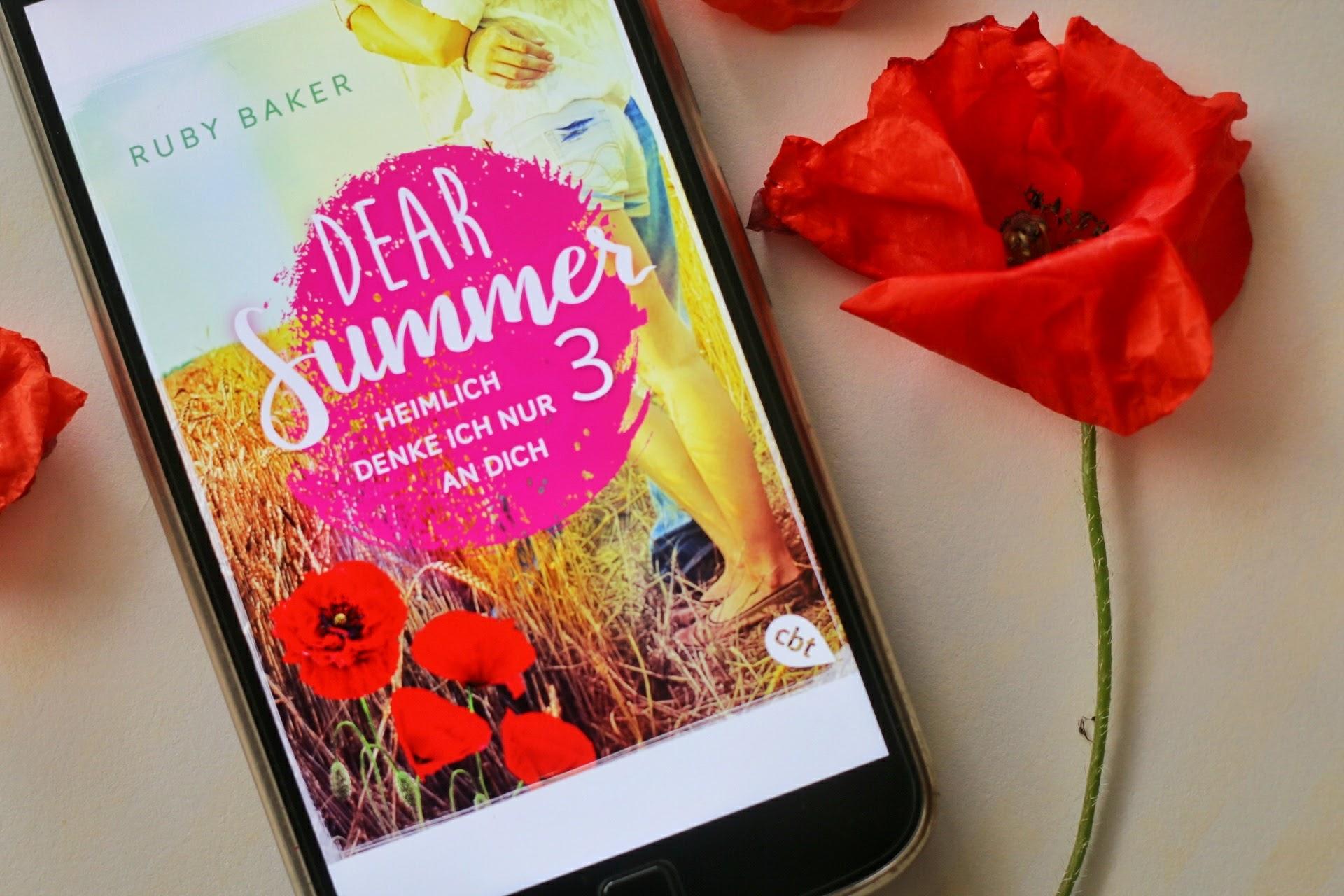 Dear Summer 3 Heimlich denke ich nur an dich Ruby Baker Cover Mohnblumen