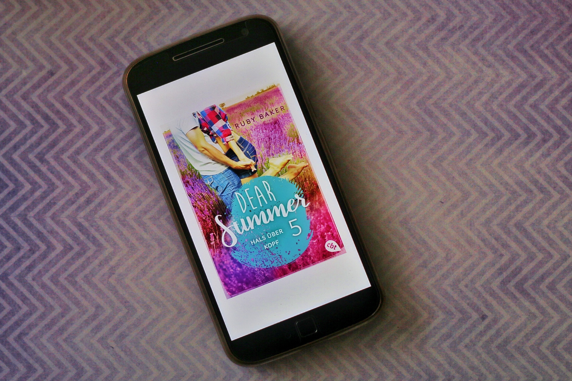 Ruby Baker Dear Summer 5 Hals über Kopf Cover lila Lavendel cbt Randomhouse