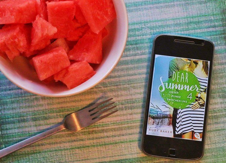 Dear Summer 4 Dieser Funke zwischen uns Ruby Baker Cover Wassermelone Sommer