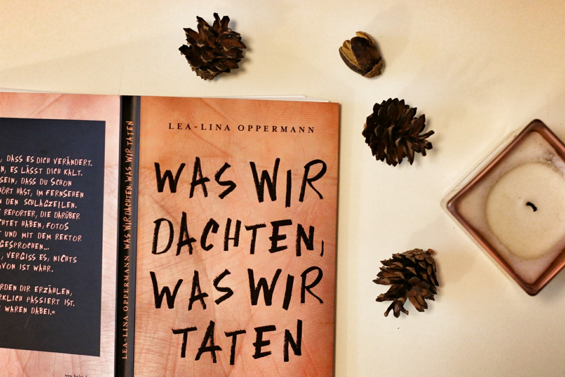 Was wir dachten was wir taten Lea-Lina Oppermann Roman Jugendbuch Beltz & Gelberg Verlag Rezension