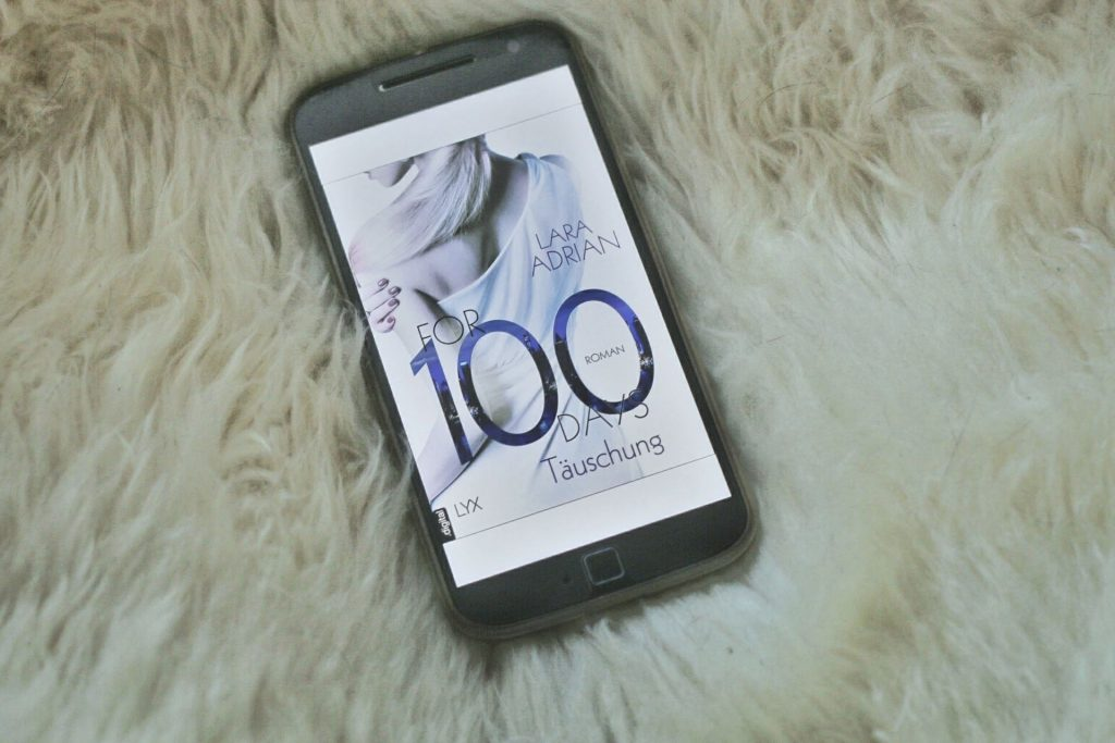 For 100 Days Lara Adrian Cover Lübbe Bastei Lübbe Verlag Rezension Erotik