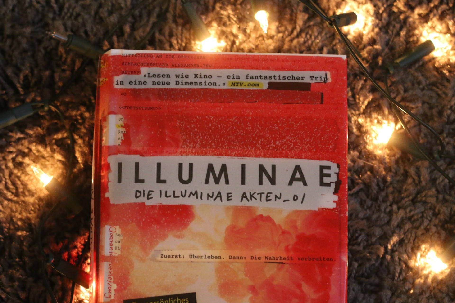 Illuminae Akten 01 Cover Amie Kaufman Jay Kristoff dtv Verlag