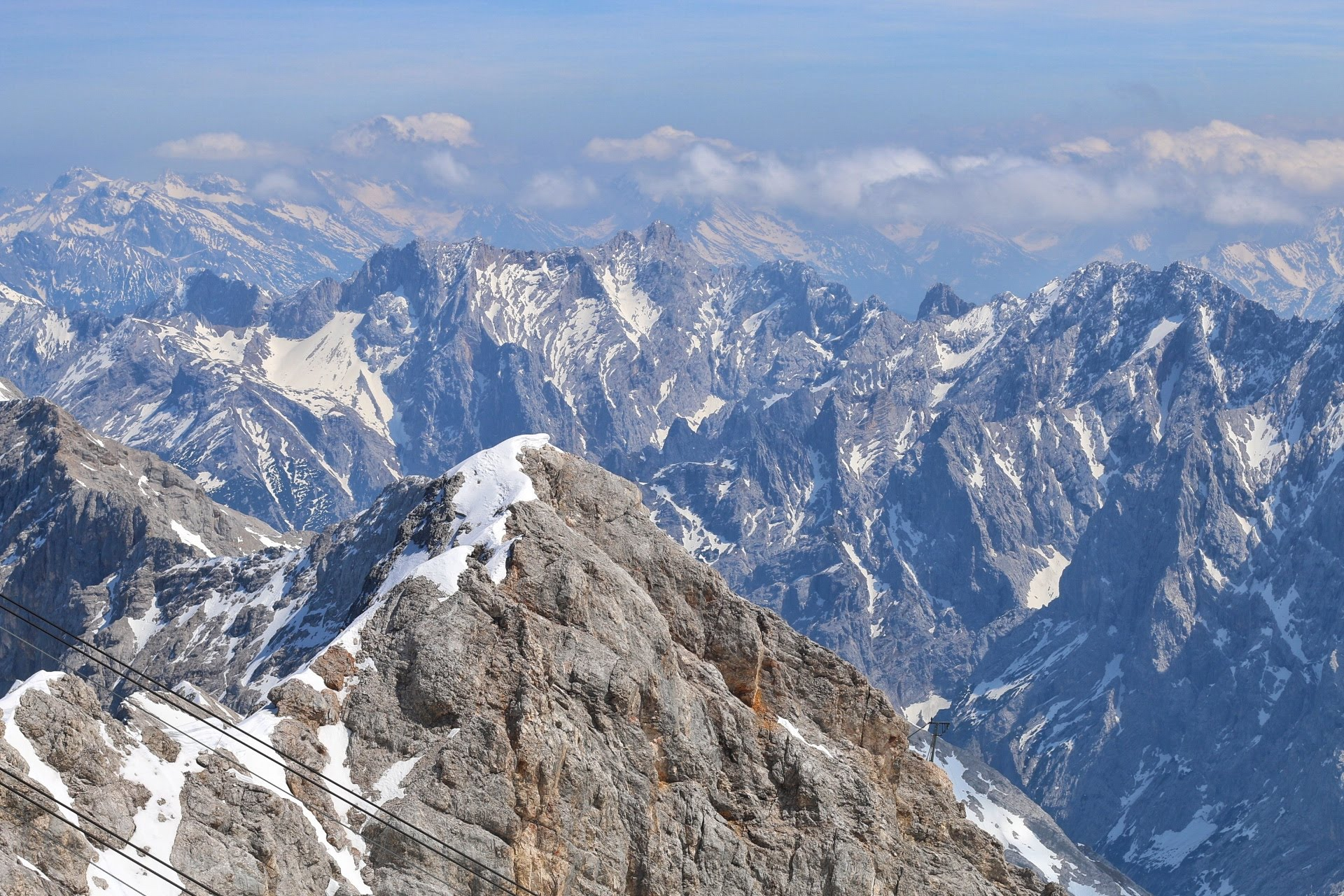 Zugspitze Guide Bayern Garmisch Partenkirchen Berg Berge