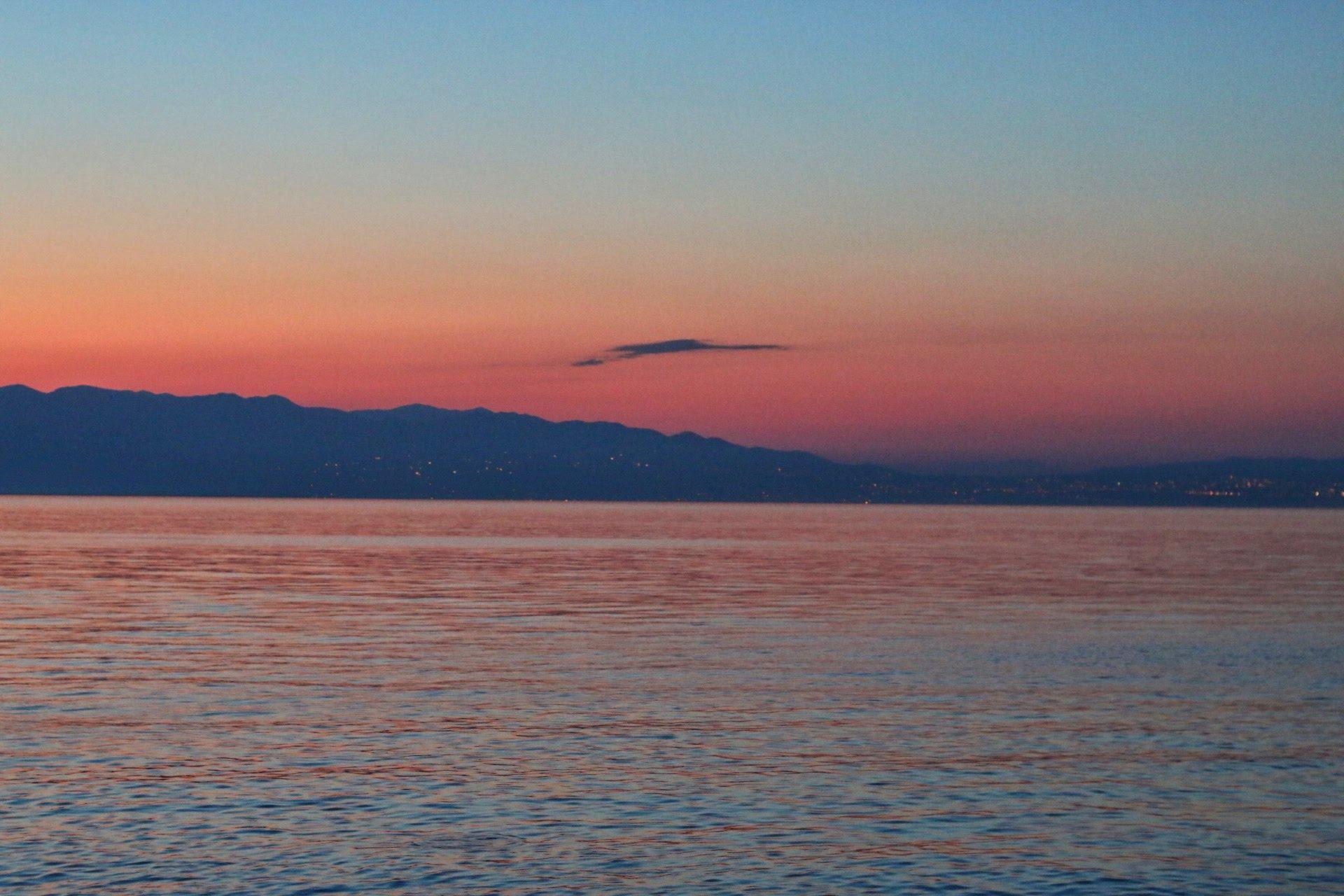 Mali Raj Kroatien Krk Insel Campingplatz Camper Roadtrip reisen Meer Bucht