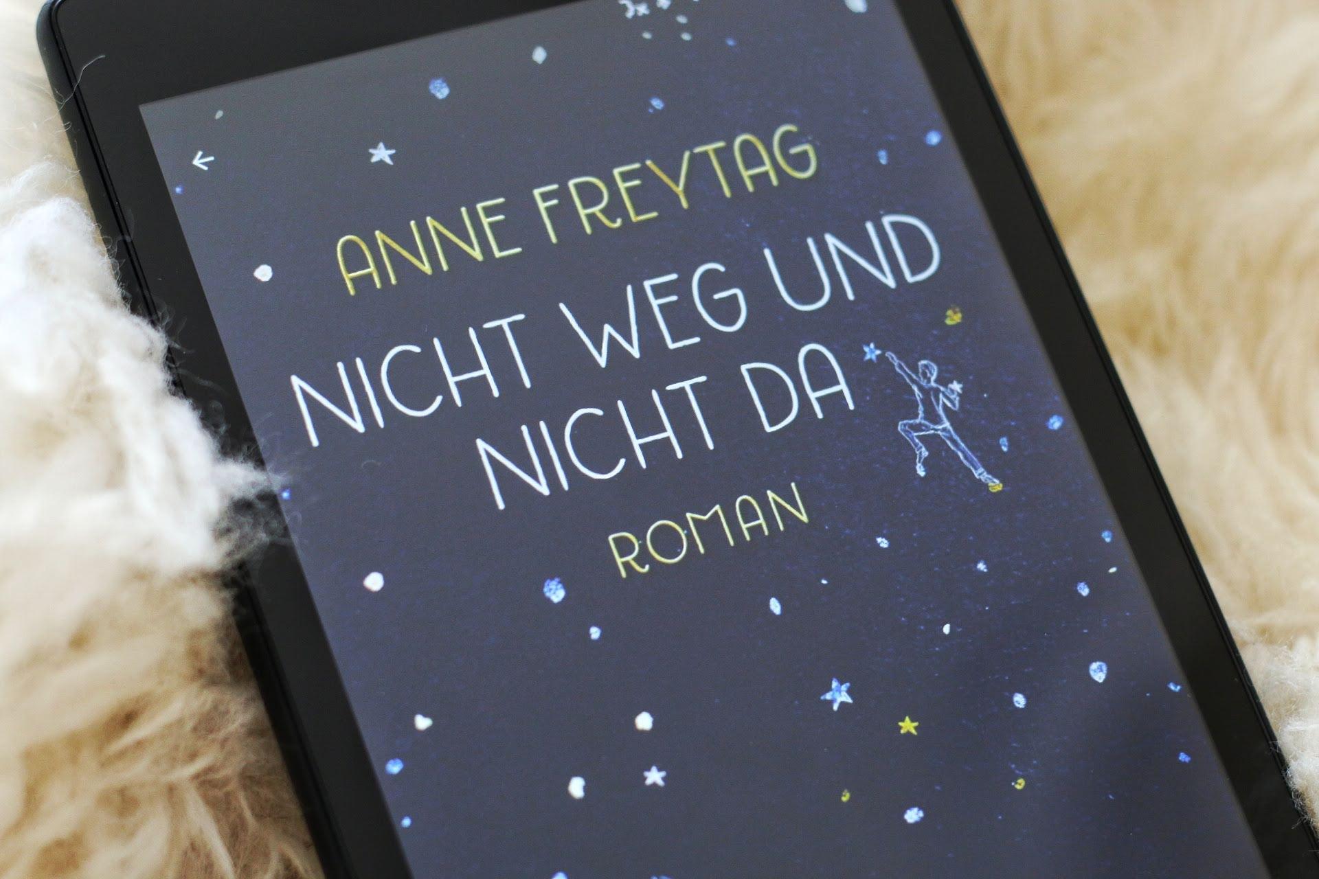 Anne Freytag Nicht weg und nicht da