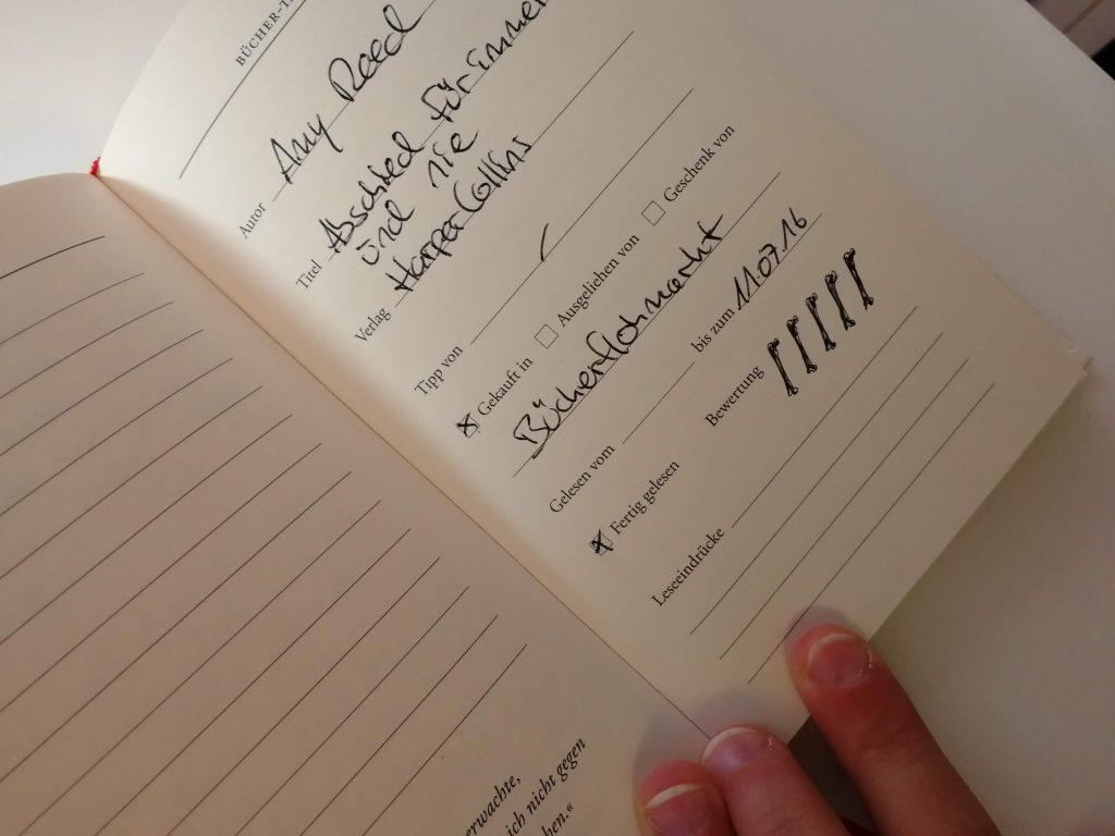 Mini Challenge Nr 1 NetGalley Lesechallenge Aufgabe #NetGalleyDEChallenge  Büchertagebuch Tagebuch Bücher sind treu Amy Reed