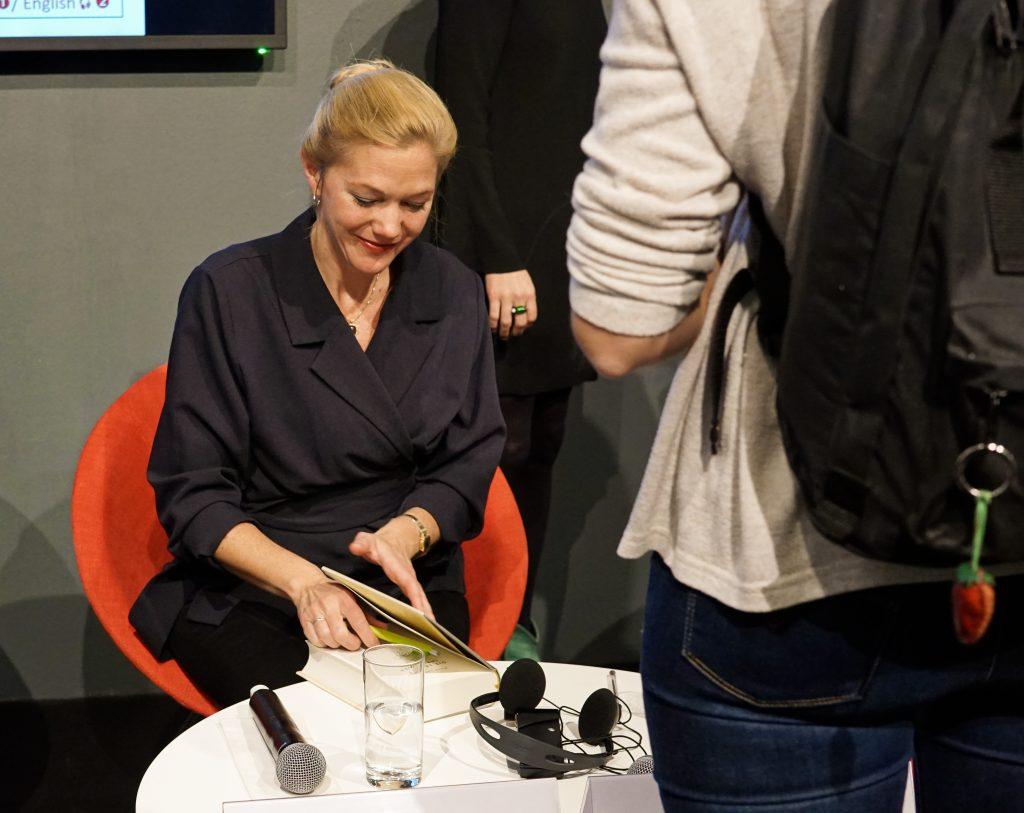 Maja Lunde Mittwoch auf der Frankfurter Buchmesse 2019