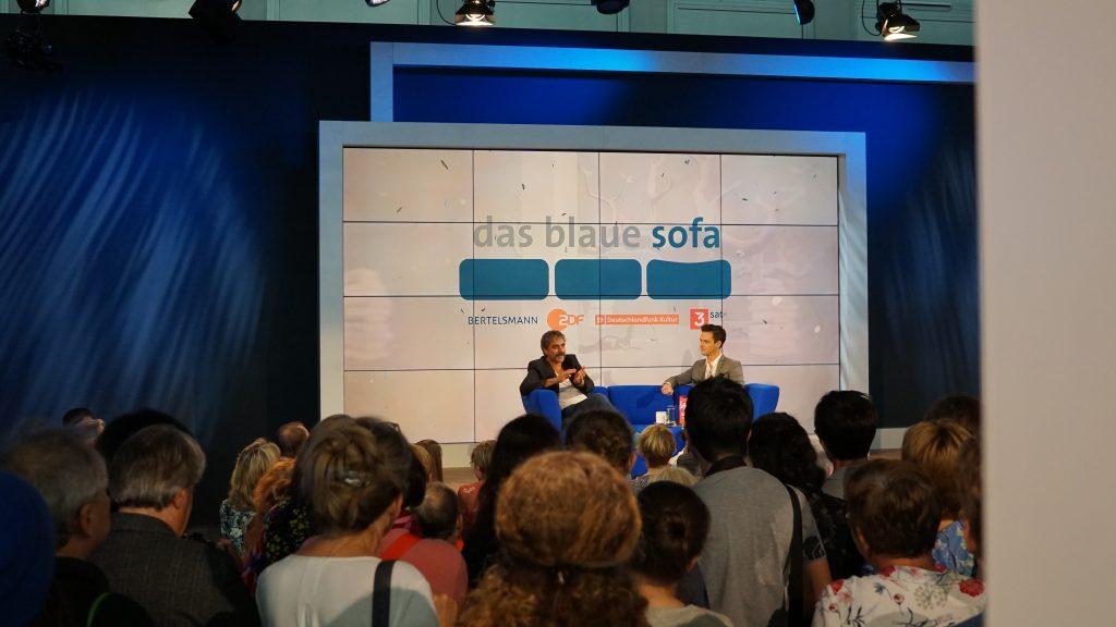 Deniz Yücel Agentterrorist das blaue Sofa FBM Frankfurter Buchmesse 2019 Türkei Haft