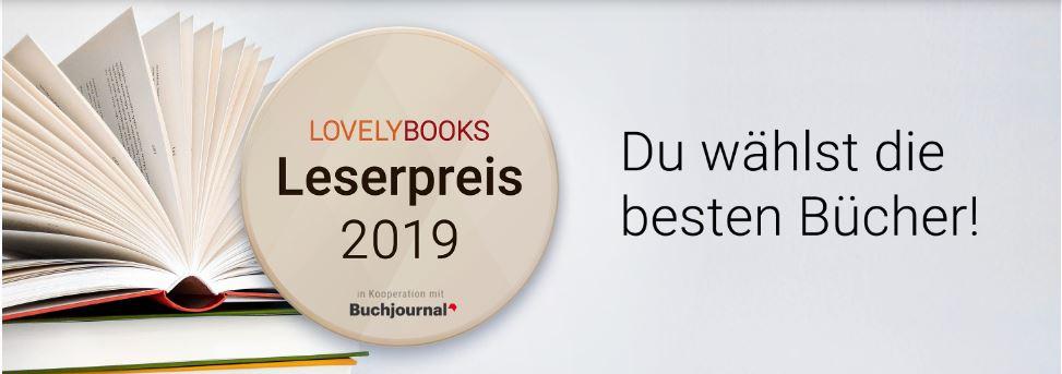 LovelyBooks Leserpreis 2019 Nominierungen nominieren